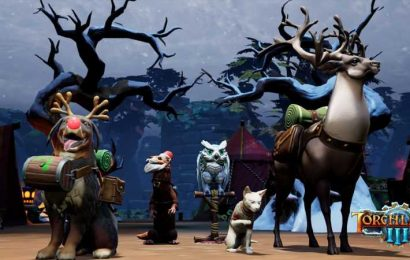 Torchlight 3 Snow & Steam Update Now Available On All Platforms