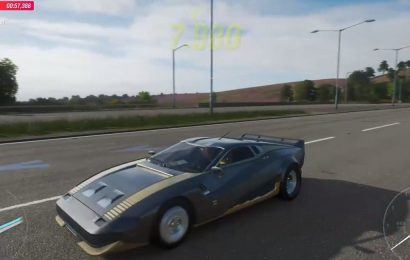 The Worse Kept Secret In Forza, The Cyberpunk 2077 Car, Is Officially Revealed