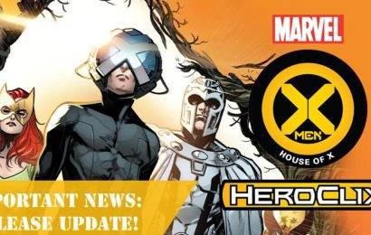 HeroClix X-Men House Of X Delayed Until End Of Month