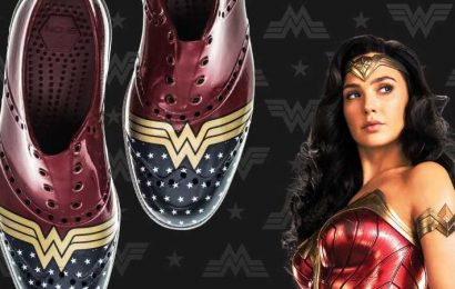 Get The Official Wonder Woman Shoes Just In Time For WW84