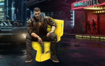 Player Finds Cyberpunk 2077 NPC Who Can't Stop Peeing