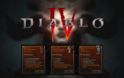 Diablo 4 Will Roll Legendary Affixes Randomly, While Unique Will Always Be The Same
