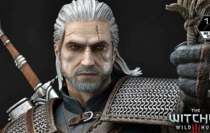 Got $1500 To Spare? Then You Should Probably Buy This Massive Geralt Statue