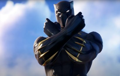 Fortnite now has a Black Panther skin and a Wakanda Forever emote