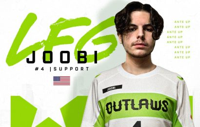 Main support Joobi signs to the Houston Outlaws – Daily Esports