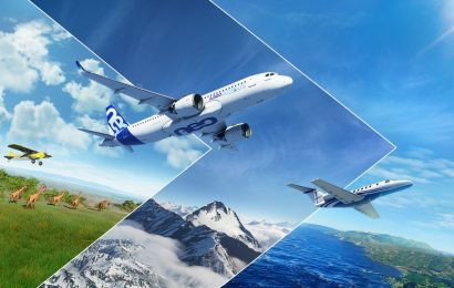Microsoft Flight Simulator's next update will deliver a white Christmas