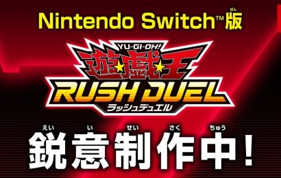 Yu-Gi-Oh Rush Dual Announced For Switch