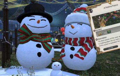 Final Fantasy 14's Starlight Celebration Returns Today With The Cutest Holiday Mount