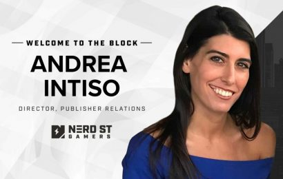 Nerd Street Gamers hires Andrea Intiso as Director of Publisher Relations – Esports Insider