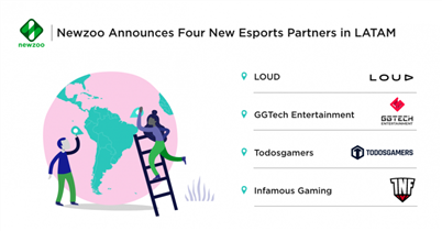Newzoo Collaborates With Four LATAM Esports Organizations