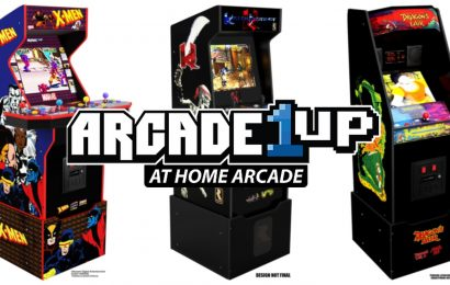 Arcade1Up's Next Cabinets Include Killer Instinct, X-Men, And Dragon's Lair
