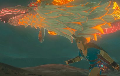 You Can Create Fireworks Out Of Dragon Scales In Breath Of The Wild