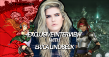 Interview: Voice Actor Erica Lindbeck On Bringing Persona 5's Futaba and FFVIIR's Jessie To Life, Twitch Streaming, & More