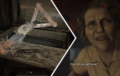 Resident Evil 7: How To Find The Crow Key & Defeat Marguerite