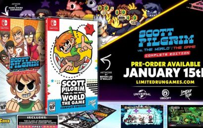 We See That Sonic Reference On The Scott Pilgrim Cover, Limited Run