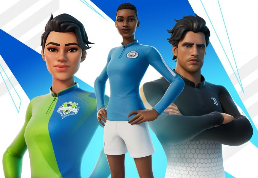 Fortnite Teams Up With 23 Football Clubs For Its New Kickoff Set And The Pele Cup