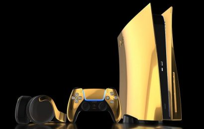 Streamer Spends $60 To Ship A Terrible Doodle Of A Gold Plated PS5 To One Rude Dude