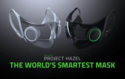 Razer's Project Hazel • the world's smartest face mask – Daily Esports