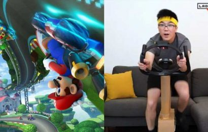 Nintendo Fan Creates Ring Fit/Labo Mod For Mario Kart