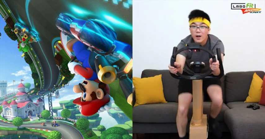 Nintendo Fan Creates Ring Fit/Labo Mod For Mario Kart