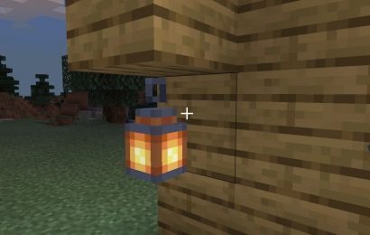 Minecraft: How To Make A Lantern