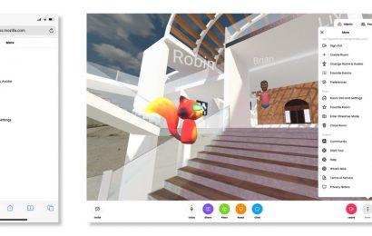 Social Platform Mozilla Hubs Launches Redesign