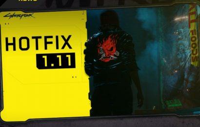 Cyberpunk 2077 Hotfix 1.11 Is Live And Fixes Game-Breaking Bug