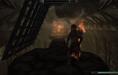 Skyrim TikTok Video Perfectly Captures How Stupid NPCs Are In Dungeons