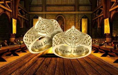 Have Your Own Skyrim Wedding With These Ridiculously Expensive Ritual Of Mara Wedding Rings
