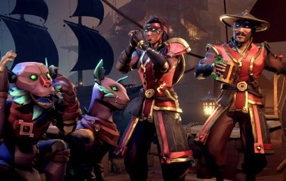 Sea of Thieves players won't get bigger crew sizes anytime soon