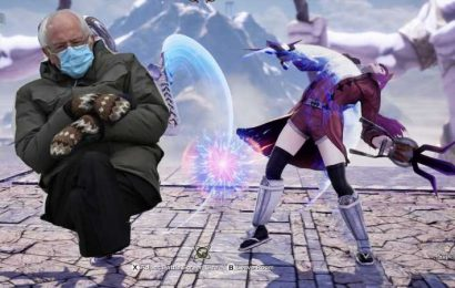 Bernie Sanders Brings His Mittens To The Soulcalibur 6 Arena