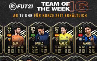 FIFA 21 – TOTW 16 mit Depay, Griezmann und Reus – FIFA