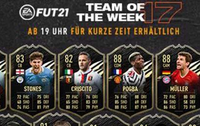 FIFA 21 – TOTW 17 mit Pogba, Müller & Ben Yedder – FIFA