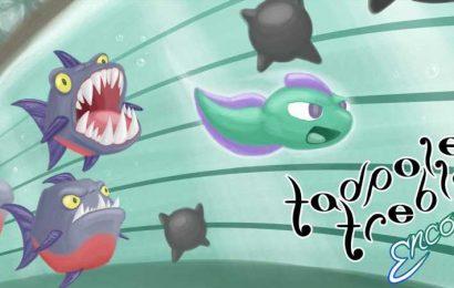 Tadpole Treble Encore Is Like Mario Paint But With Enemies