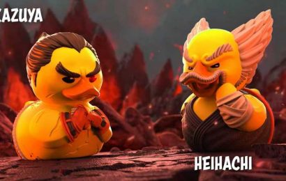 Tekken's Heihachi and Kazuya Quack To The Death With New Tubbz Collectibles