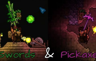 The 10 Best Pickaxes & Swords In Terraria