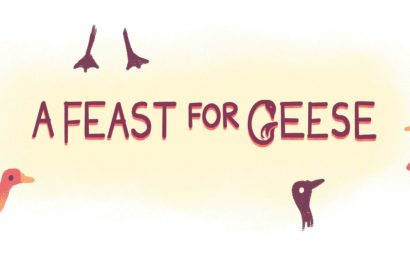 A Feast For Geese Involves Having A Conversation With A Stranger On A Park Bench