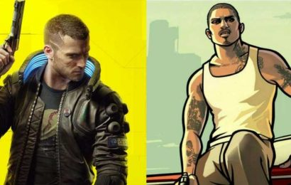 There's A Very Cool San Andreas Easter Egg In Cyberpunk 2077