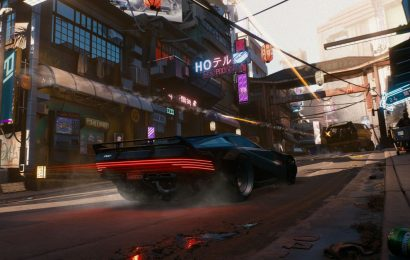 Cyberpunk 2077 speed glitch lets you run faster than cars can load