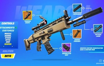 Fortnite: Weapon Mod Leaks Reveal More Of What To Expect