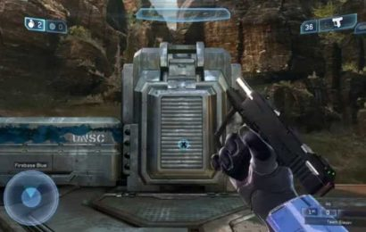 Someone Made A Perfect Replica Of The Halo 2 Pistol Using Lego – They Even Added Sound Effects