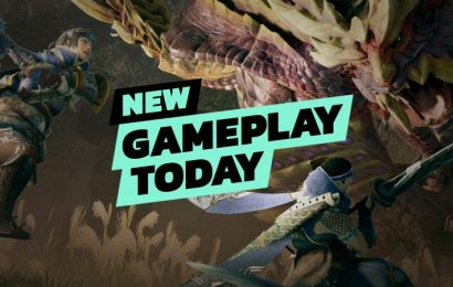 New Gameplay Today – Monster Hunter Rise Demo