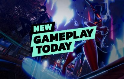 New Gameplay Today – Persona 5 Strikers