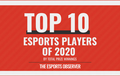 Top 10 Esports Players of 2020 by Total Prize Winnings
