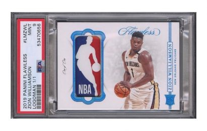 Zion Williamson's NBA Rookie Card Is Now Worth Over $750,000 USD