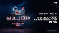 After Two-Year Hiatus, Valve Announces Next CS:GO Major to be Played in Stockholm