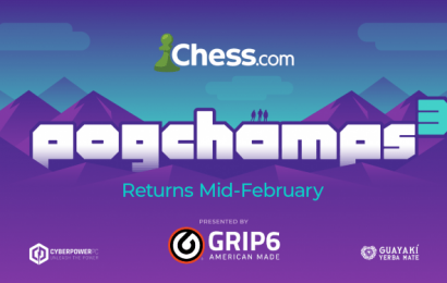 Influencer Chess Tournament PogChamps 3 to Feature Pokimane, MrBeast, Rainn Wilson, and Logic ‎