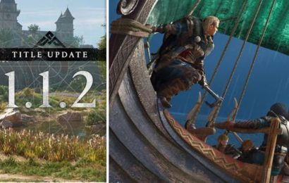 Assassin's Creed Valhalla update 1.1.2 patch notes: Huge download adds FREE River Raids