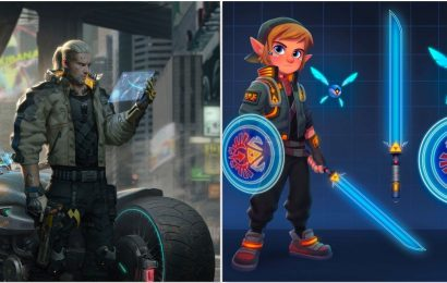 10 Iconic Fan Art Versions Of Video Game Characters In Cyberpunk 2077