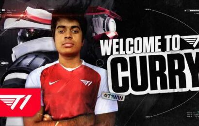 Curry signs to T1 Valorant – Daily Esports
